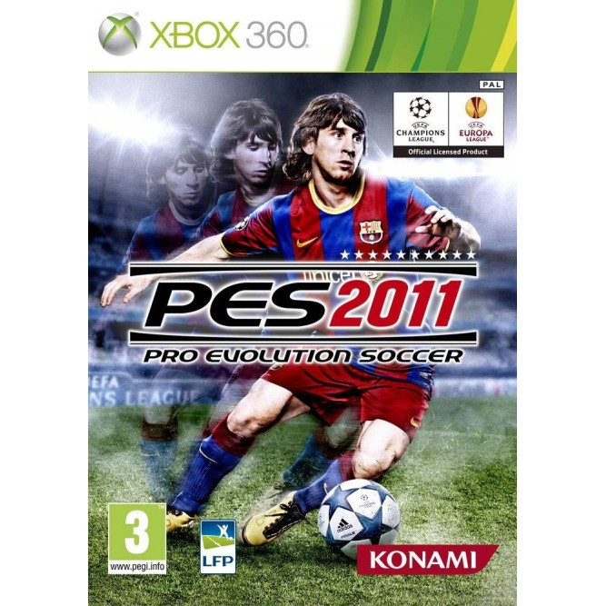 Игра PES 2011 (Pro Evolution Soccer) (Xbox 360) б/у