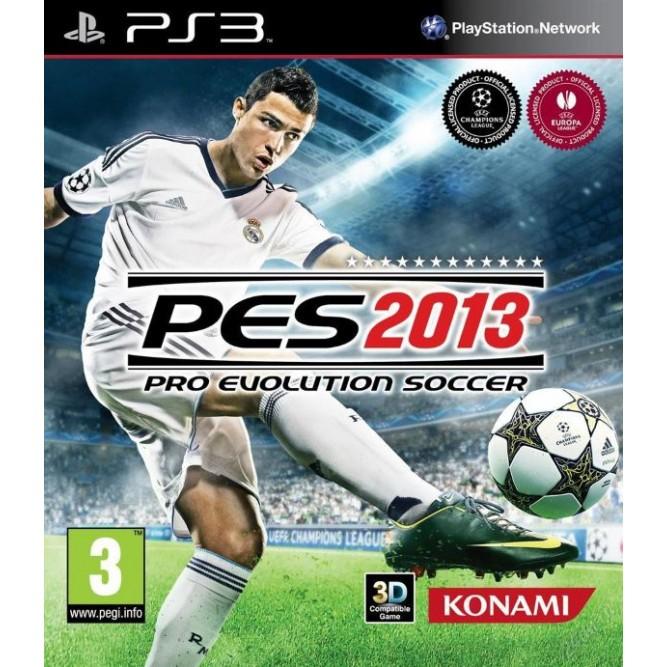 Игра Pro Evolution Soccer 2013 (PES) (PS3) б/у