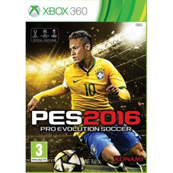 Игра Pro Evolution Soccer 2016 (PES 2016) (Xbox 360) б/у