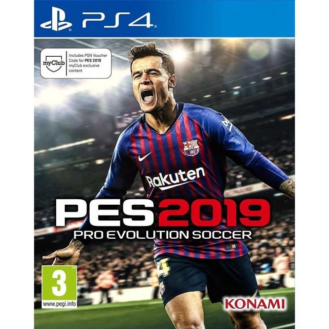 Игра Pro Evolution Soccer 2019 (PES 2019) (PS4) (eng) б/у