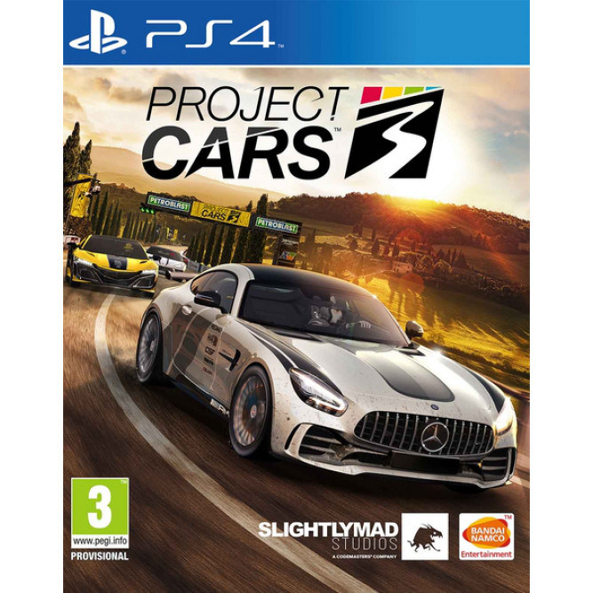 Игра Project Cars 3 (PS4) (rus sub)