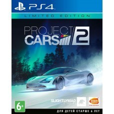 Игра Project Cars 2. Limited Edition (PS4) (rus sub)