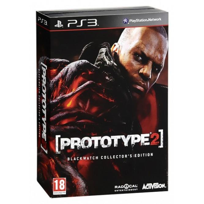 Игра Prototype 2. Blackwatch Collector's Edition (PS3) б/у