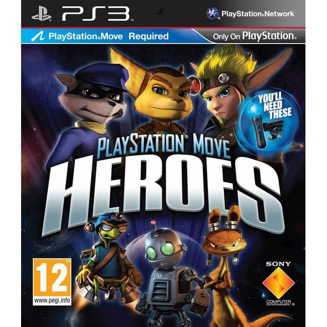 Игра PlayStation Move Heroes (PS3) б/у (eng)