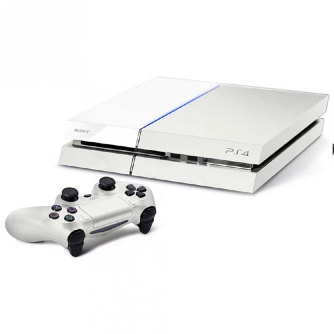 Приставка Sony PlayStation 4 (1 Тб), Белая, б/у