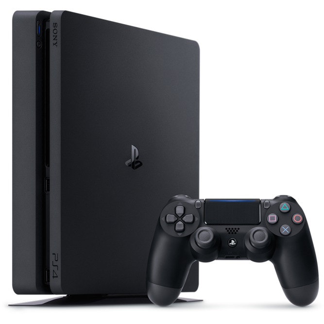 Приставка Sony PlayStation 4 Slim (1 Тб) б/у