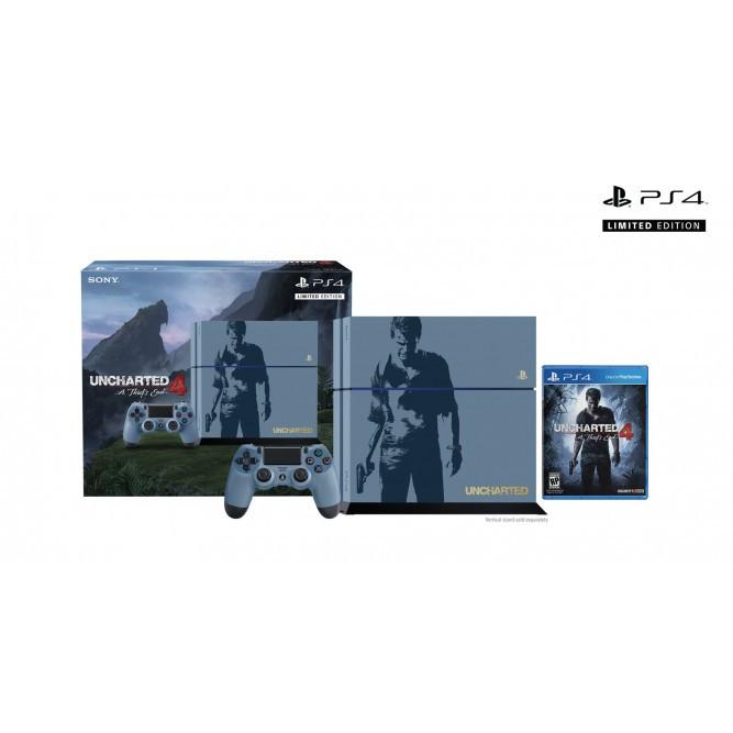 Приставка Sony PlayStation 4. Uncharted Edition (1 Тб) б/у