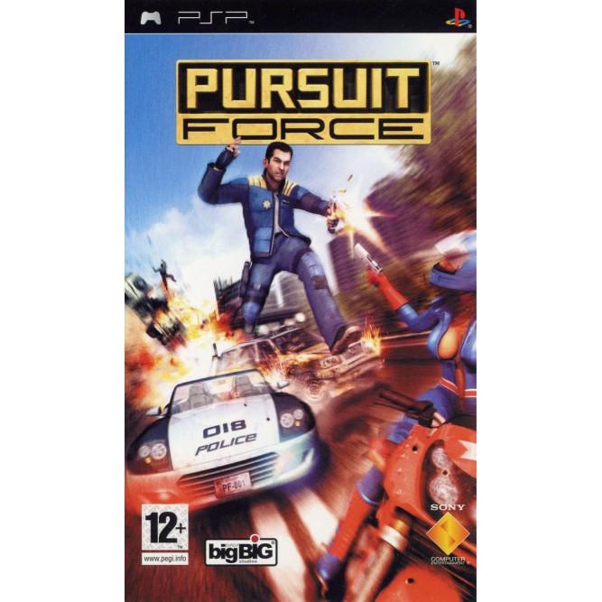 Игра Pursuit Force (PSP) б/у