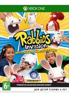 Игра Rabbids Invasion: Интерактивный Мультсериал (Xbox One) (rus)