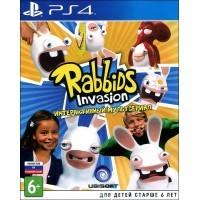 Игра Rabbids Invasion: Interactive TV Show (Интерактивный мультсериал) (PS4) б/у (eng)