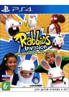 Игра Rabbids Invasion: Интерактивный Мультсериал (PS4) (eng)