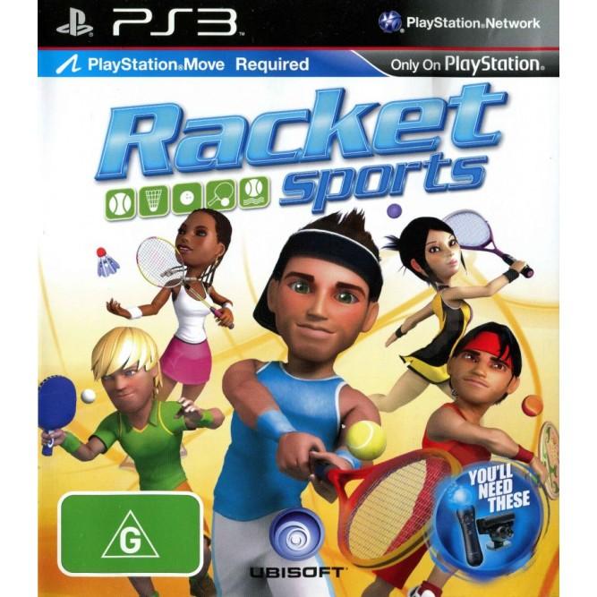 Игра Racket Sports (только для Move) (PS3) б/у