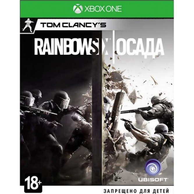 Игра Tom Clancy's Rainbow Six: Осада (Xbox One) б/у (rus)