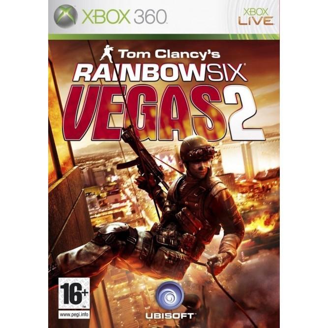 Игра Tom Clancy's Rainbow Six: Vegas 2 (Xbox 360) б/у (rus)