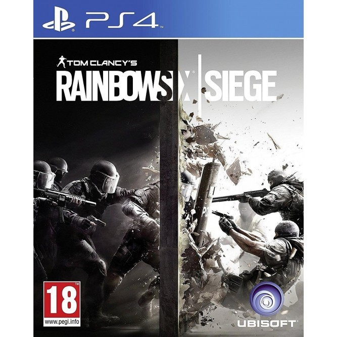 Игра Tom Clancy's Rainbow Six: Осада (PS4) б/у (rus)