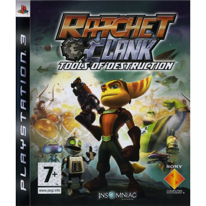 Игра Ratchet & Clank: Tools of Destruction (PS3)