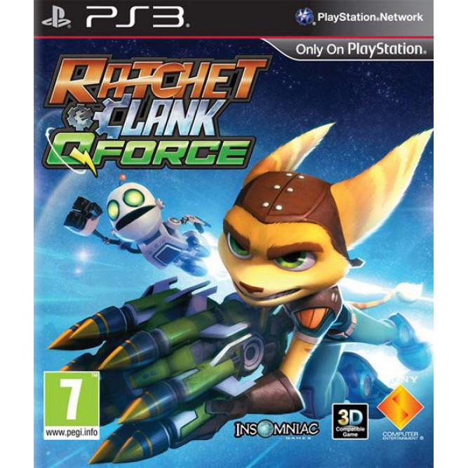 Игра Ratchet and Clank: Qforce (PS3) б/у