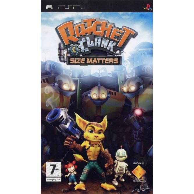 Игра Ratchet & Clank: Size Matters (PSP) б/у