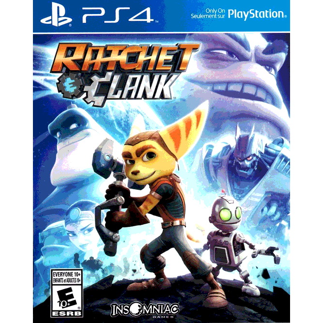 Игра Ratchet and Clank (PS4)