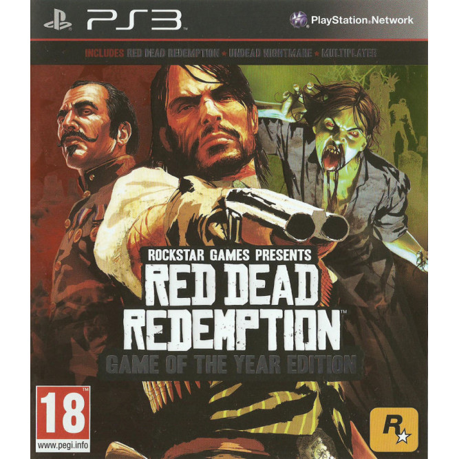 Игра Red Dead Redemption. Game of the Year Edition (PS3) (eng) б/у