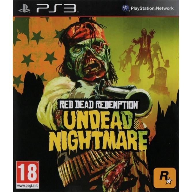Игра Red Dead Redemption: Undead Nightmare (PS3) б/у