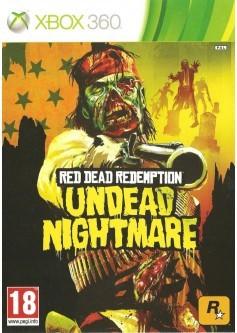 Игра Red Dead Redemption: Undead Nightmare (Xbox 360) б/у