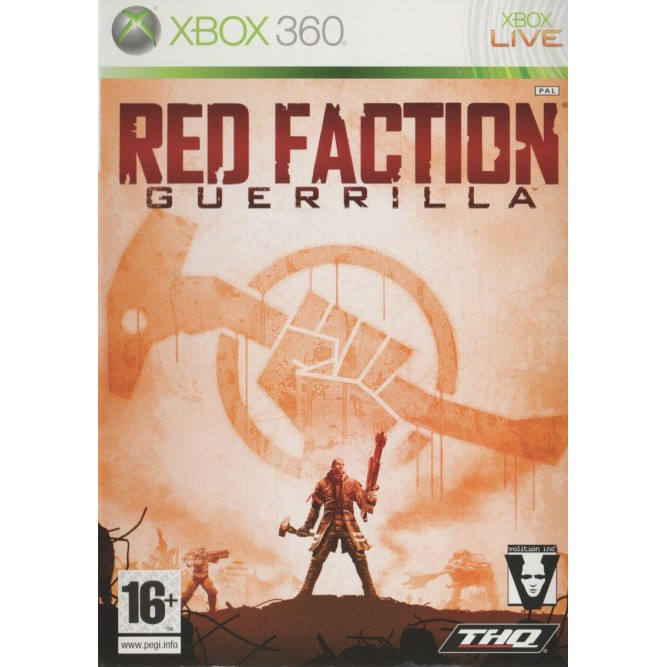 Игра Red Faction Guerrilla (Xbox 360) (eng) б/у