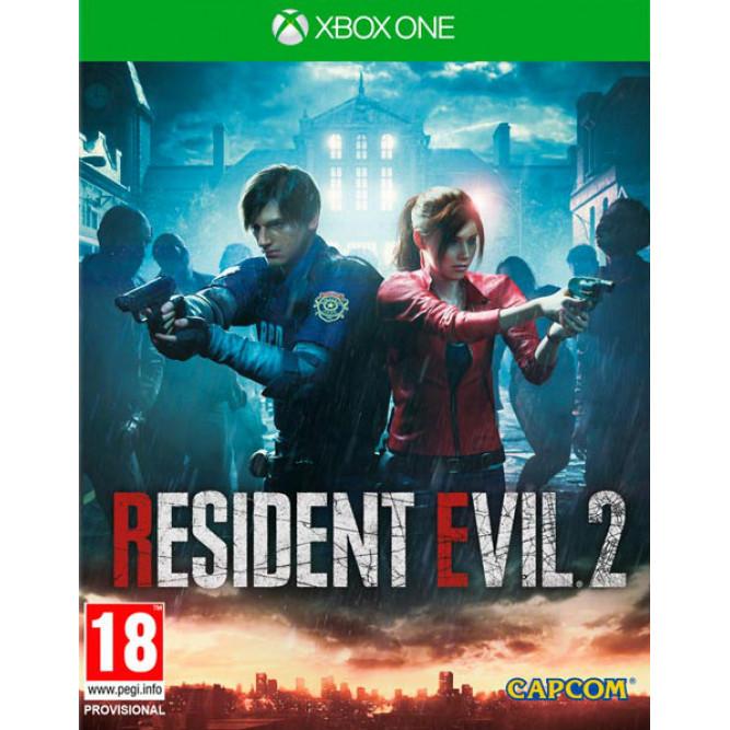 Игра Resident Evil 2 Remake (Xbox One) (rus) б/у