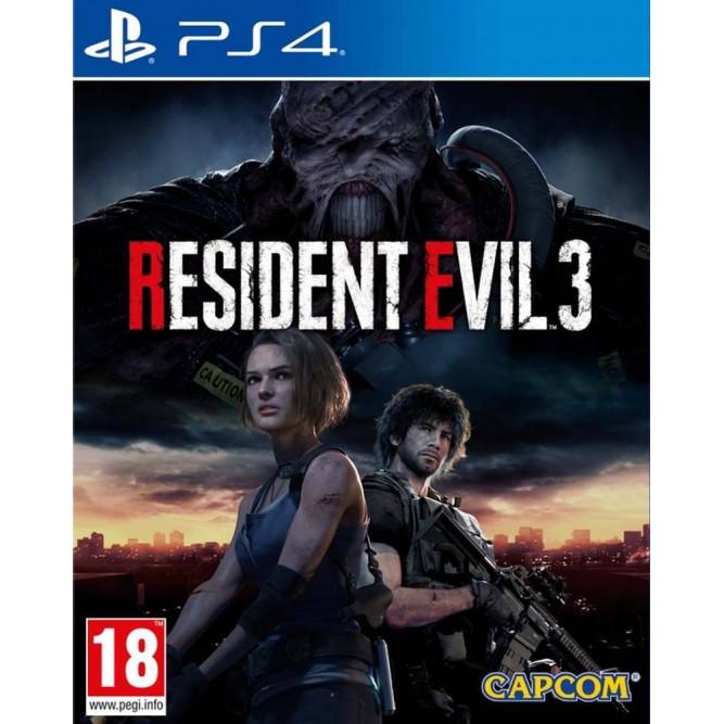 Игра Resident Evil 3 (PS4) (rus sub) б/у