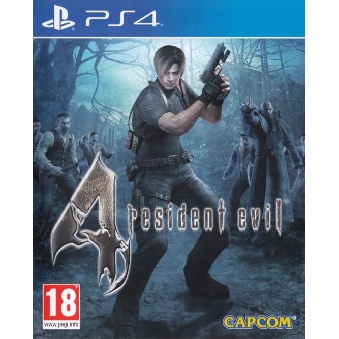 Игра Resident Evil 4 (PS4) (eng)