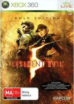 Игра Resident Evil 5: Gold Edition (Xbox 360) б/у