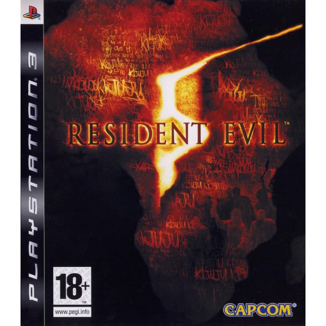 Игра Resident Evil 5 (PS3) б/у