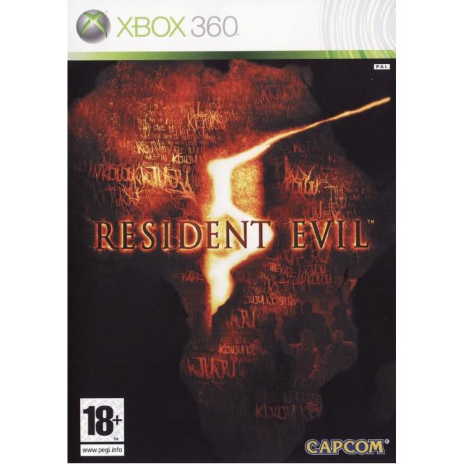 Игра Resident Evil 5 (Xbox 360) б/у