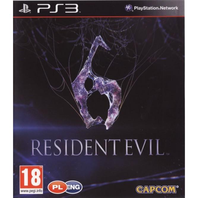 Игра Resident Evil 6 (PS3) б/у