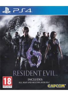 Игра Resident Evil 6 (PS4) (rus sub)