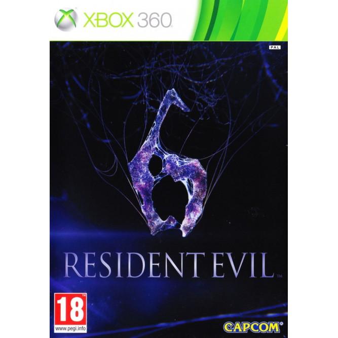 Игра Resident Evil 6 (Xbox 360) б/у