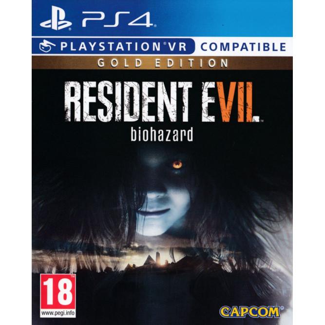 Игра Resident Evil 7: Biohazard - Gold Edition (поддержка PS VR) (PS4) (rus sub)