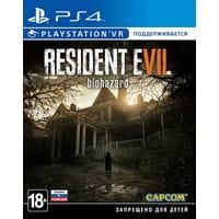 Игра Resident Evil 7: Biohazard (поддержка VR) (PS4) (б/у) rus sub