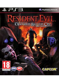 Игра Resident Evil: Operation Raccoon City (PS3) б/у
