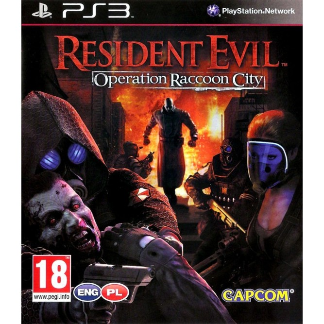 Игра Resident Evil: Operation Raccoon City (PS3) б/у
