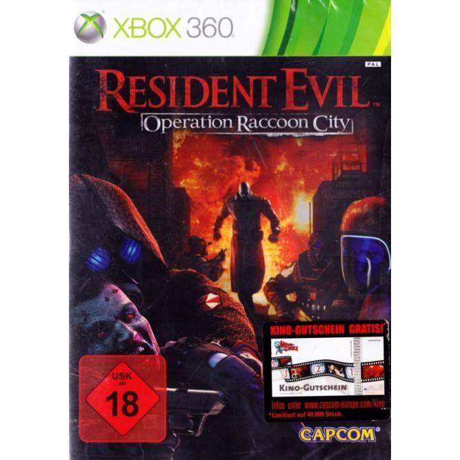 Игра Resident Evil: Operation Raccoon City (Xbox 360) б/у