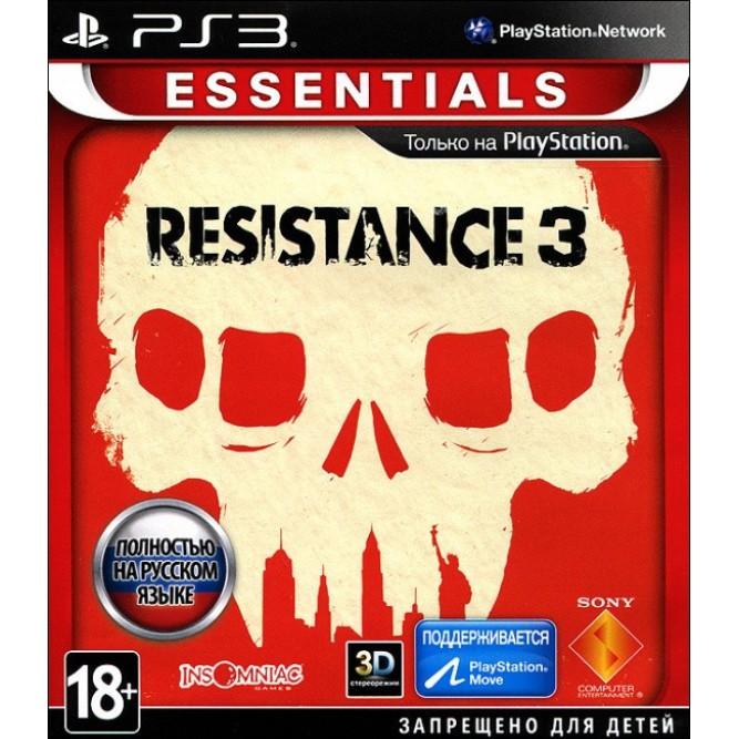 Игра Resistance 3 (Essentials) (PS3) б/у