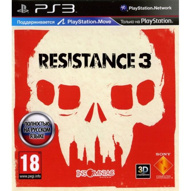 Игра Resistance 3 (PS3) б/у (rus)