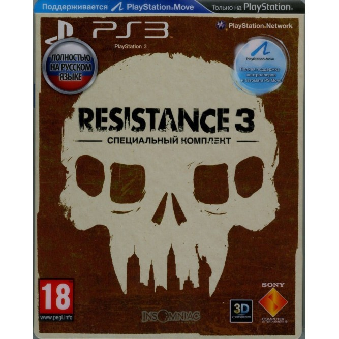 Игра Resistance 3 (Survivor Edition) (PS3) б/у