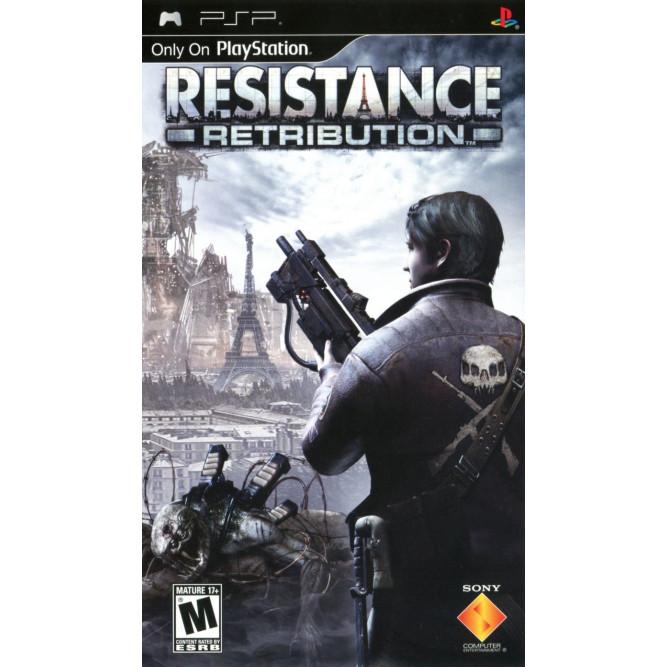 Игра Resistance: Retribution (PSP) б/у