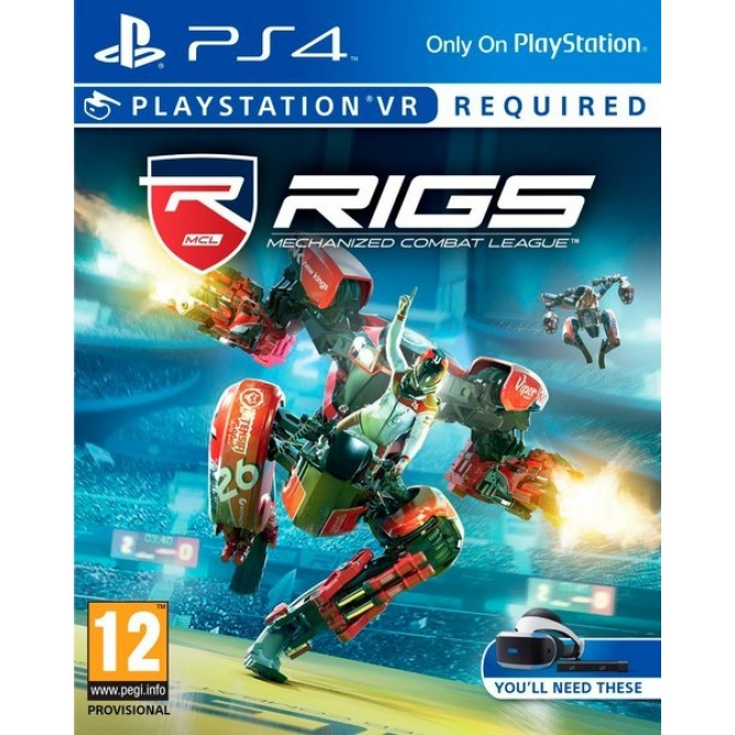 Игра RIGS: Mechanized Combat League (Только для PS VR) (PS4) (rus)