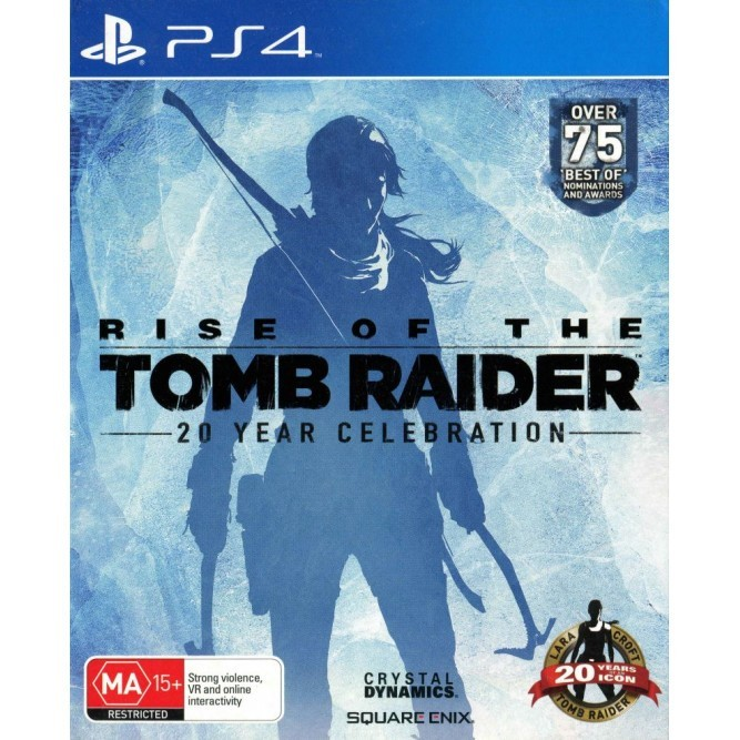 Игра Rise of the Tomb Raider. 20 Year Celebration Pack (PS4)