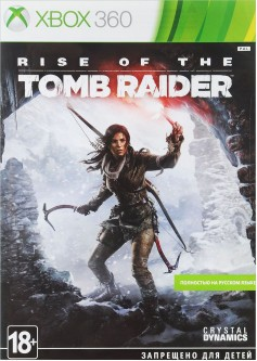 Игра Rise of Tomb Raider (Xbox 360) (rus) б/у