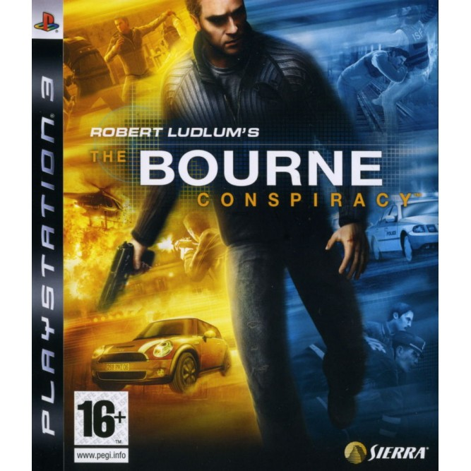 Игра Robert Ludlum's The Bourne Conspiracy (PS3) б/у (eng)