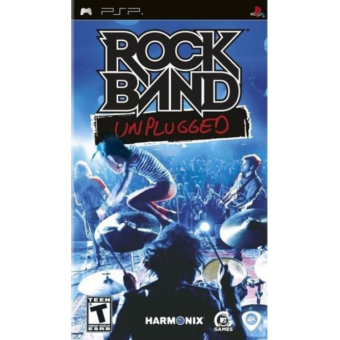 Игра Rock Band: Unplugged (PSP) б/у